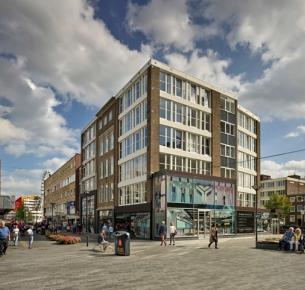 Winkelpanden Hoogstraat, Rotterdam