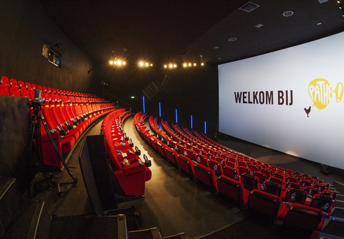 Staalmakers for Bioscoop pathe rotterdam